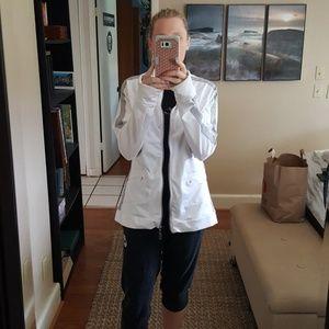 Alo White Athletic Jacket